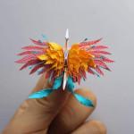 This beautiful paper crane