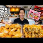 Ayce buffet mukbang challenge!
