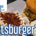"""Blue line grill """"pittsburger'er"""" challenge"""