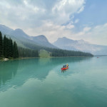 Surreal Lake Emerald in British Columbia, Canada