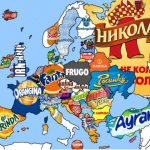 Soft drinks from all over Europe