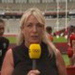 New Zealand rugby star Ruby Tui gives a wholesome post-match interview that epitomizes the Olympic spirit