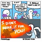 To those who make things