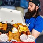 The champions box giant breakfast challenge