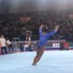 Literally cannot get enough of how good Simone Biles is. Basically superhero abilities