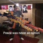 The Protector of the Nerf Shrine