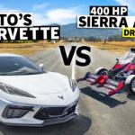 C8 Corvette Races a Turbo Hayabusa Powered Sierra Alpha Racecar // This vs. That
