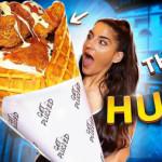 Get plucked chicken cone menu challenge