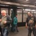 """""""If you don't know me by now"""" on New York Subway"""