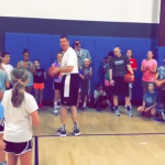 Principal drained a full-court shot with the entire student body watching