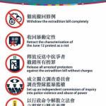 Core demands of Hong Kong Protesters