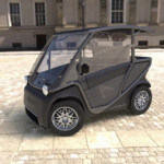 New Tiny Electric Car Is Solar-Powered and Costs $6,800