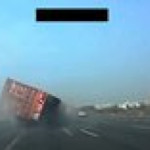 Nothing wrong with overtaking a truck and failing miserably