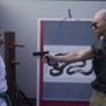 Gun disarming technique