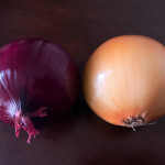 Two perfect onions. My simple contribution to 2020-21 relief. Gaze and enjoy!