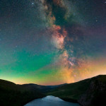 The Milky Way over Lough Tay, Co Wicklow - Ireland last Saturday Night