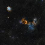 Jelly Fish Nebula & Monkey head Nebula 🐵