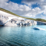 """Summer in Greece.. (not joking, we have many alpine lakes with """"seasonal glaciers"""")"""
