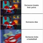 PE teachers ffs