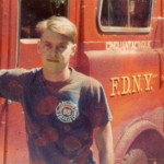 Steve Buscemi when he was a FDNY firefighter circa 1982