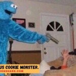 Cookie monster The home invader