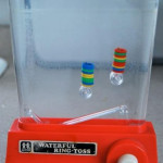 The Water Ring Toss Game- it's the original phone in the bathroom!