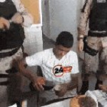 Police forces in brazil celebrating a theif's 18th birthday because they can't arrest anyone under 18
