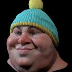 Cartman sculpture