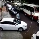 A car minding its own business