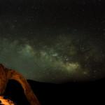 Milky Way Over Corona Arch