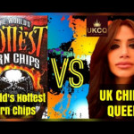 The World's Hottest Corn Chips Official League Of Fire Challenge! The UK Chilli Queen is BACK!