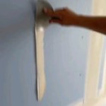 Filling in holes in the wall