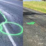 Guy paints penises over potholes to get them filled faster