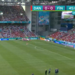 Christian Eriksen seems to be receiving CPR in the game between Denmark and Finland, Euro 2021