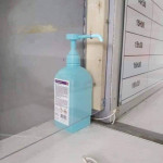 I've finished putting the hand sanitiser out boss, what's next?