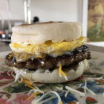 Sausage, Egg, & Cheese English Muffin
