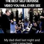 Much needed self-defense