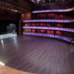Automated floor transformation at Tobin center for the performing arts