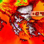 Highest Temperature Ever Measured in Europe Expected to be Broken Tomorrow as Apocalyptic 47°C (116.6°F) are Forecast for Greece, Bulgaria, Serbia and Turkey