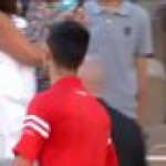 Novak Djokovic makes a kid's day after winning the French Open