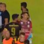 Kewin Dawson let the rival fan take a penalty shot who has down syndrome