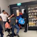 Thug attacks Asda worker in London
