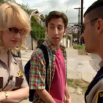 Just realized last night that Simon Helberg is in a few Reno 911 episodes