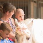 Girl battling brain cancer meets a 'unicorn' through Make-A-Wish Foundation