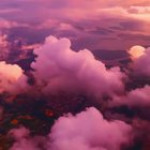 Heavenly view from above