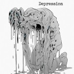 An artistic representation of Depression