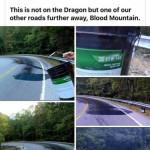 Purposefully making road dangerous