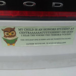 This bumper sticker
