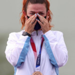 Shooting-Tears of joy as San Marino becomes smallest Olympic medal-winning nation