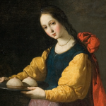 February 5 Feast day of Saint Agatha - The patron saint of rape victims, breast cancer patients